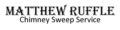 Matthew Ruffle Chimney Sweep Logo